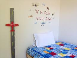 Diy Airplane Growth Chart Kelly Leigh Creates