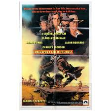 once upon a time in the west poster 1968 for