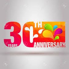 Anniversary Template Anniversary Card Anniversary Background 30th Anniversary Template