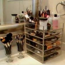 would love to have enough counter e for this kim kardashian makeup organizer
