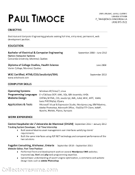 Mechanical Engineering Student Resume Sample Resume For A Midlevel