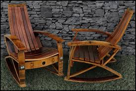 barrel concepts wine barrel rocker i ve written to them to ask if they can make an extra wide chair to accommodate extra wide thighs