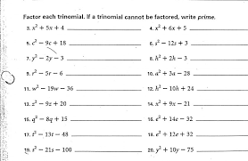 math worksheets go solving quadratic equations by factoring answers grade common worksheet polynomials trinomials 2 840