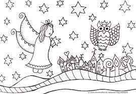 25 Printen Kerst Tekeningen Zwart Wit Kleurplaat Mandala