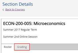 Mcps Grading Chart 2017 Grading Instructions American University Washington Dc