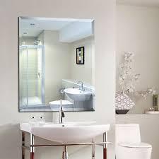 bathroom mirror. Image Is Loading NEW-500mm-X-400mm-Wall-Mounted-Bathroom-Mirror- Bathroom Mirror E