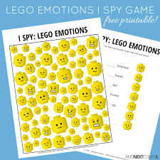 Exploring Emotions With Lego Faces Free Exploring