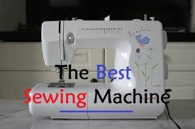 Best Beginner Sewing Machine 2017