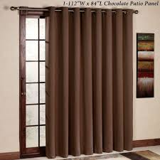 rhf thermal insulated blackout patio door curtain panel sliding door curtains