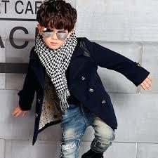 boys pea coat winter high quality kid boy designer coat jacket boys trench coat outerwear coats boys pea coat