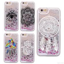 Dream Catcher Case Iphone 7 Plus Glitter Liquid Mandala Dream Catcher Bohemia Boho Feathers Hard 60