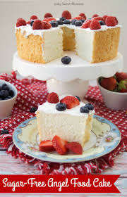 this delicious sugar free angel food cake recipe is super easy to make low carb