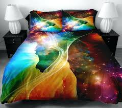 full size galaxy bedding whole galaxy bedding sets twin queen size universe outer space themed bedspread