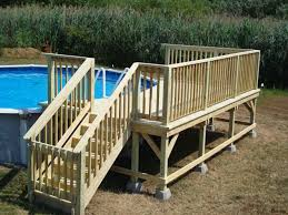 excellent free standing deck plans ground level in structural for measurements 1264 x 948