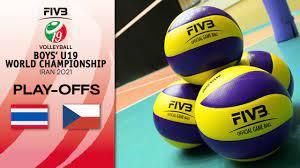 THA vs. CZE - Full Match   Play Offs 9-16   Boys U19 World Champs 2021 -  YouTube