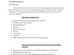 Personal Skills Resume Examples