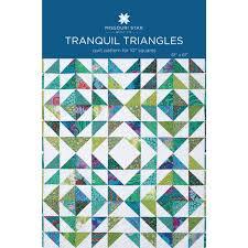 Tranquil Triangles Quilt Pattern by MSQC - MSQC - MSQC — Missouri ... & Tranquil Triangles Quilt Pattern by MSQC Adamdwight.com