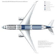 Seat Map A350 900 Lufthansa Magazin