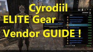 Cyrodiil S Light Eso Cyrodiil Armor Sets Guide Elite Gear Vendor Random Armor Sets Elder Scrolls Online