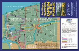 niagara county  county information  public transportation schedule
