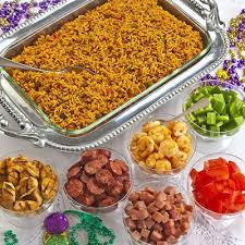 Super bowl office party ideas Recipes We Have Some Picky Eaters In Our Office So We Liked This Super Bowl Party Idea For Olivia Mannings Ultimate Jambalaya Bar Which Meanu2026 Pinterest We Have Some Picky Eaters In Our Office So We Liked This Super Bowl