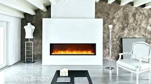 electric fireplace flush mount house uk pertaining to 8