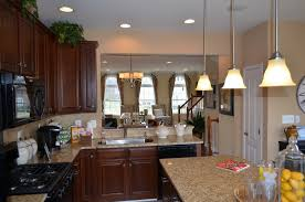 the kitchen in the kingsley garage town home by toll brothers in the amberlea community at