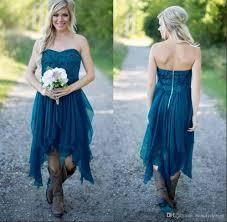 2018 Vintage Country Wedding Dresses V Neck Cap Sleeves Floor Vintage Country Style Wedding Dresses