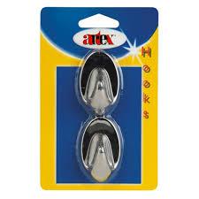 <b>Аксессуары для ванной комнаты</b>   Крючки самоклеющиеся, <b>пласт</b> ...