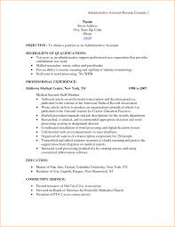 11 Administrative Assistant Objective Resume Basic Job Example Of ...