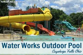 water works water works aquatic center outdoor pool waterslides lazy river