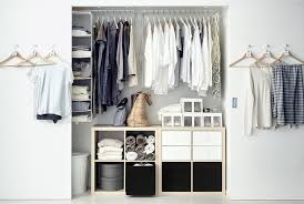 reach in closet systems. View Of A Reach-in Closet Space With Sliding Doors And IKEA Furniture Fittings Reach In Systems