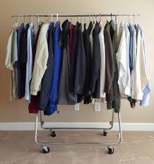 image of luxury heavy duty garment rack