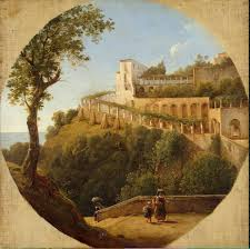 italian landscape painting chauvin pierre athanase oil painting reion