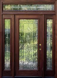 Glass Front Door Styles  North Carolina New Home Front Door IdeasGlass Front Doors