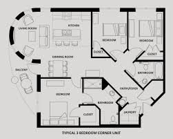3 Bedroom Floor Plans Impressive Decorating Ideas