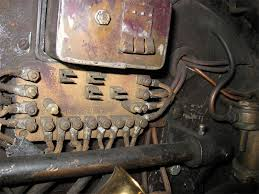 exploring the 1914 kissel 4 40 electrical system generator on john quam s car fuse panel on annie