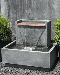 garden fountains fountain wall diy mounted water wall fountain feature ideas courtyard
