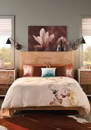 Give Your Bedroom A Makeover With Behr Paint In Artful Aqua To Create A Serene Environment