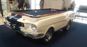 custom pool tables. Shelby GT 350 Custom Pool Table And Refrigerator! - YouTube Tables