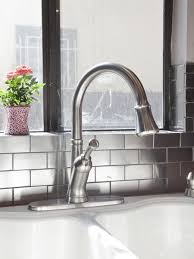 Kitchen Counter And Backsplash Ideas Awesome 48 Creative Subway Tile Backsplash Ideas HGTV
