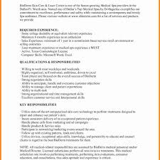 Amazing Medical Esthetician Resume Pictures Documentation Template