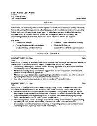 Volunteer Counsellor Resume Template Premium Resume Samples Example