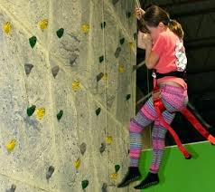 child rock climbing wall build kid parts building a diy for playset bui