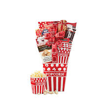 wine country gift baskets night popcorn and candy gift basket 562 the