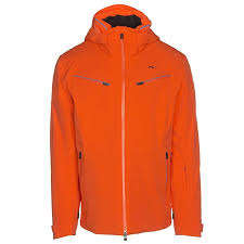 Kjus Formula Mens Insulated Ski Jacket X Large Kjus Orange