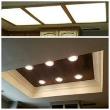 Recessed lighting kitchen Position Florescent Lighting Makeover Vinyl Floor Wood Planks Inlay With Led Lighting Then Finished With Crown Panasian Pgh Home Design 14 Best Kitchen Recessed Lighting Images House Decorations