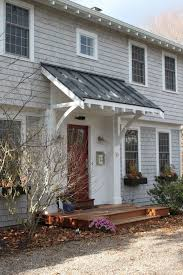 Exterior Planning Front Porch Awnings. Metal Door Awnings For Home ...