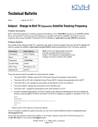 Change To Bell Tv Expressvu Satellite Tracking Frequency