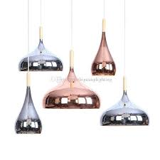 nordic post modern rose gold chrome pated chandelier dining room bedroom living room iron simple coffee lamps multi pendant light home lights from